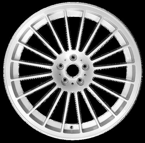 """21"""" 2017-2019 BMW Alpina B7 Silver Rear Wheel 86384"""