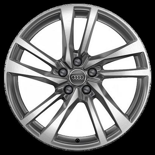 "19"" 2020 Audi S5 Machined Grey Wheel 12005"