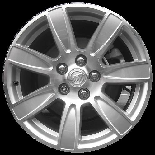 "18"" 2010-2013 Buick Allure LaCrosse Machined Silver Wheel 4096"