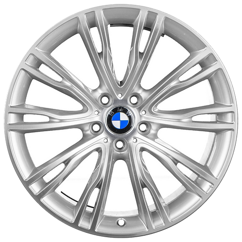 "20"" 2014-2019 BMW X5 X6 Machined Silver Rear Wheel 86061 Style 551"