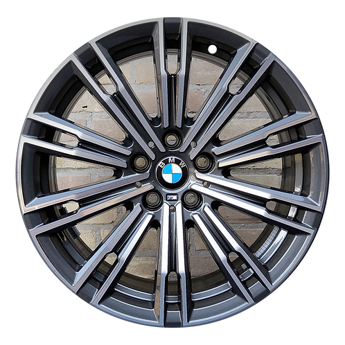 "18"" 2019-2020 BMW 330i M340i Machined Charcoal Wheel 86495 & 966176 Style 790"