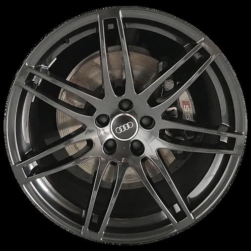 """20"""" 2017-2018 Audi A5 S5 Black Wheel 58845 & 59017"""