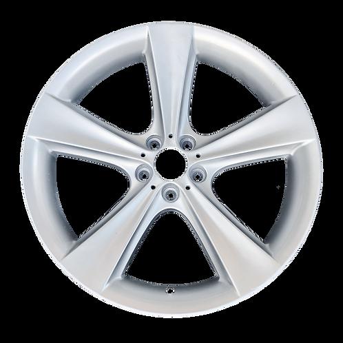 """21"""" 2014-2019 BMW X5 X6 Silver Rear Wheel 71182 & 71285 Style 128"""