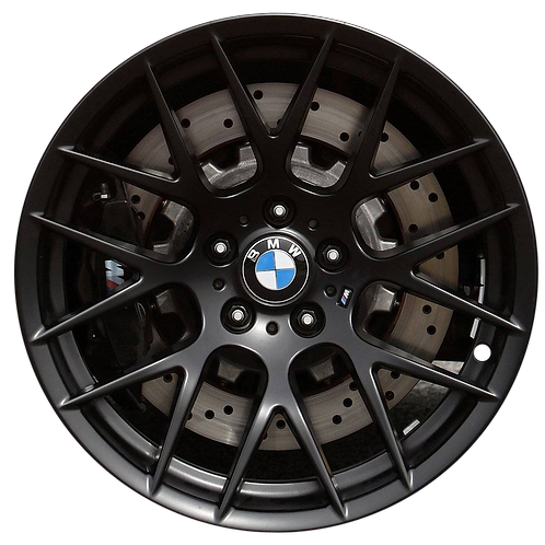 "19"" 2011-2013 BMW M1 M3 Black Rear Wheel 71439 Style 359"