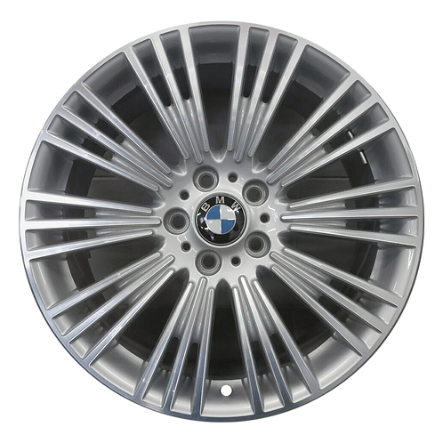 "19"" 2014-2016 BMW 328i GT 335i Machined Silver Rear Wheel 86021 Style 440"