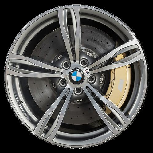 "20"" 2012-2016 BMW M5 Machined Grey Rear Wheel 71563 Style 343"