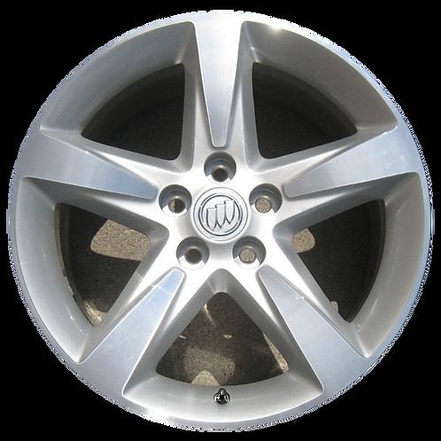 """19"""" 2010-2013 Buick LaCrosse Regal Machined Silver Wheel 4103"""