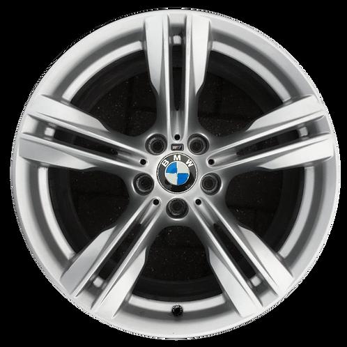 """19"""" 2014-2018 BMW X5 Silver Rear Wheel 86050 Style 467"""