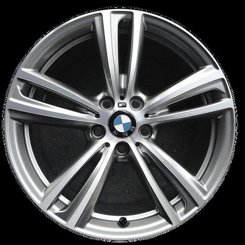 """19"""" 2014-2020 BMW 320i 328i 330i 340i 428i Silver Front Wheel 86013 & 86087"""