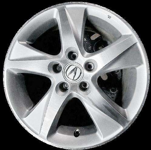 "17"" 2012-2014 Acura TSX Machined Silver Wheel 71781"