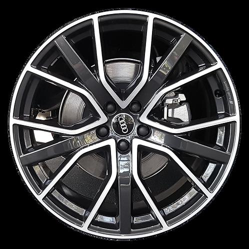"21"" 2020 Audi S7 Machined Black Wheel 12010"