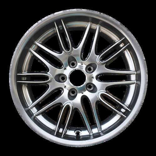 "18"" 2000–2003 BMW M5 Hyper Silver Rear Wheel 59323 Style 68"