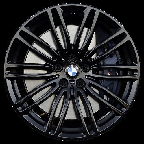 "19"" 2017-2020 BMW 530e 530i 540i M550i Black Rear Wheel 86332 Style 664"