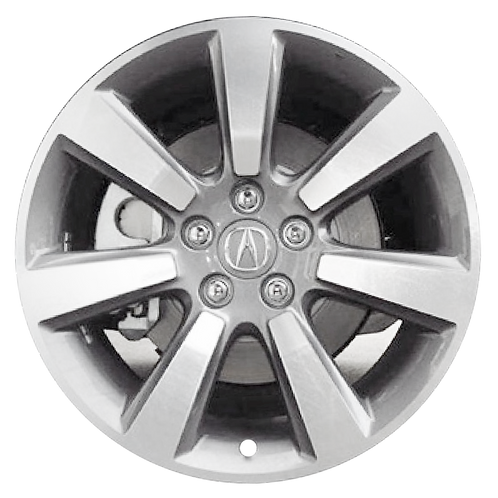"19"" 2010-2013 Acura ZDX Machined Silver Wheel 71795"