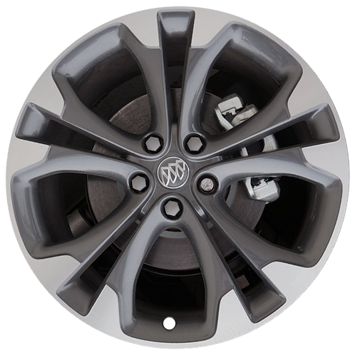 "20"" 2016-2019 Buick Cascada Machined Grey Wheel 4138"