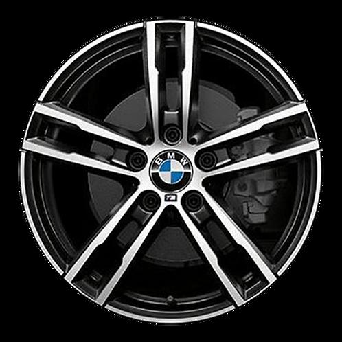 """18"""" 2020 BMW 230i M240i Machined Black Front Wheel 86512 &96229 Style 719"""