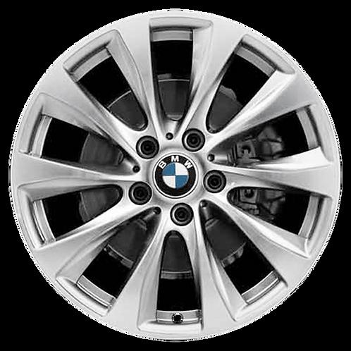 """18"""" 2014-2020 BMW 228i 230i M235i M240i Silver Rear Wheel 86136 Style 387"""