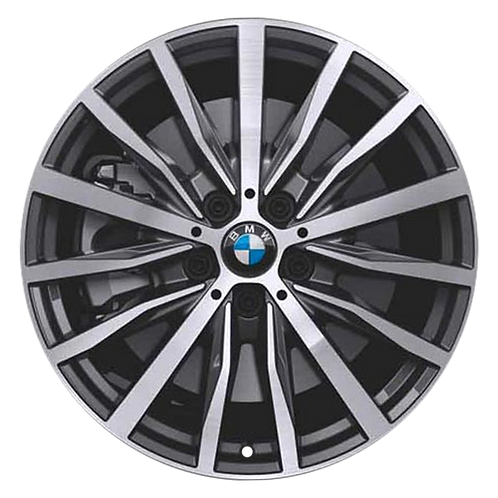 "18"" 2020 BMW 228i M235i Machined Charcoal Wheel 86587 Style 488"