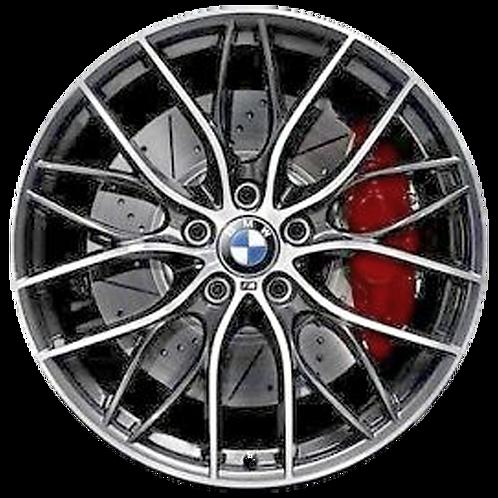 "20"" 2012-2020 BMW 320i 328i 330i 335i 340i Charcoal Wheel 71551 Style 405"