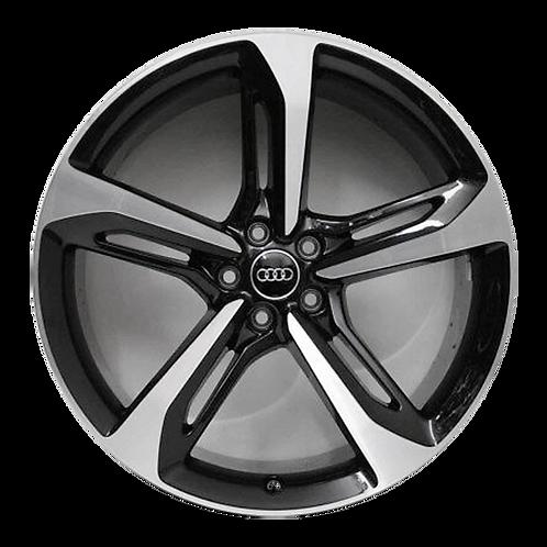 "21"" 2019 Audi Q7 Machined Black Wheel 59051 &59052"