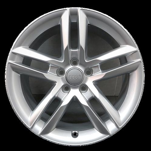 "19"" 2014-2015 Audi A7 Hyper Silver Wheel 58936"