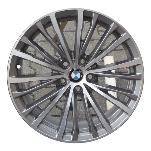 "18"" 2019-2020 BMW 330i M340i Machined Grey Wheel 86494 Style 781"