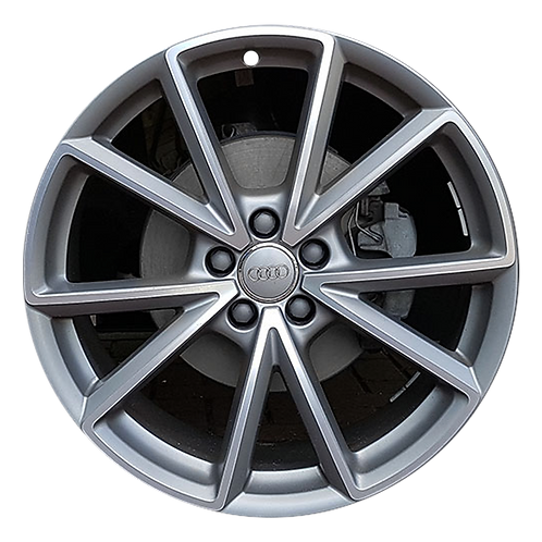 "20"" 2015-2017 Audi Q5 Machined Grey Wheel 58970"