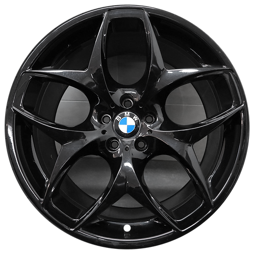 "21"" 2007-2019 BMW X5 X6 Black Rear Wheel 71229 & 71286 Style 215"