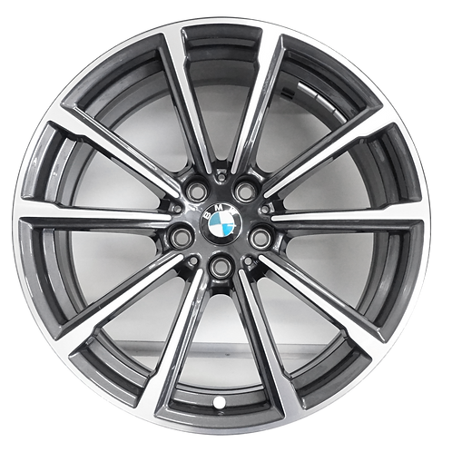 "19"" 2018-2019 BMW 640i GT Machined Grey Front Wheel 86409 Style 685"