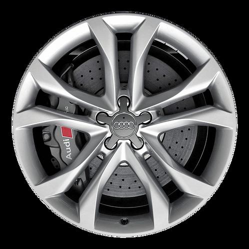 "19"" 2010-2011 Audi S6 Silver Wheel 58869"