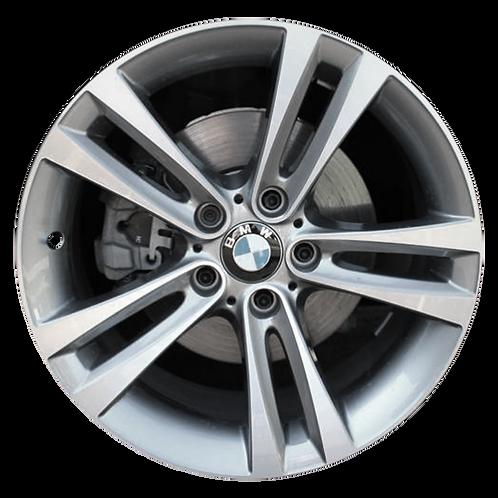"""18"""" 2012-2020 BMW 320i 328i 330i 340i 428i Grey Front Wheel 71540 Style 397"""