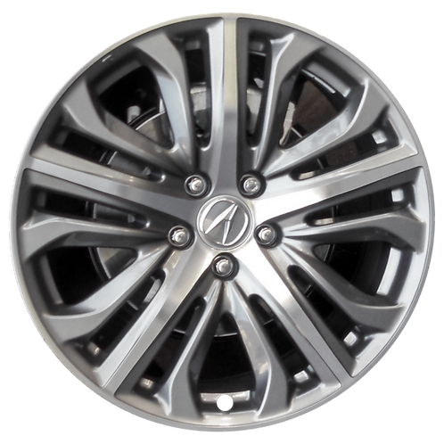 "19"" 2015-2017 Acura TLX Machined Grey Wheel 71829"