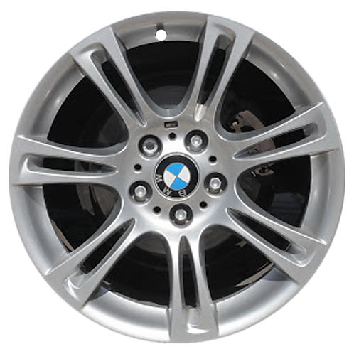 "18"" 2011-2019 BMW 528i 535i 550i 640i 650i M6 Silver Front Wheel 71404 Style 350"