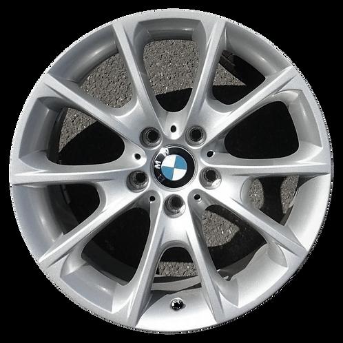 """18"""" 2012-2020 BMW 320i 328i 330i 340i 428i Silver Rear Wheel 71545 & 86269"""