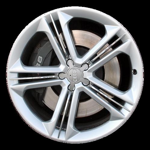 "21"" 2013-2018 Audi S8 Silver Wheel 58899"