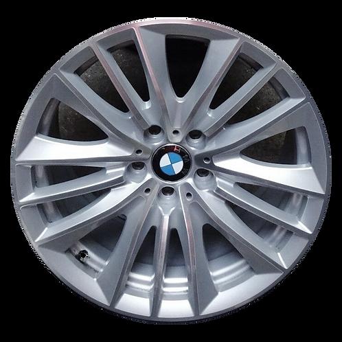 """19"""" 2011-2019 BMW 528i 535i 550i 640i 650i M6 Silver Rear Wheel 71421 Style 332"""