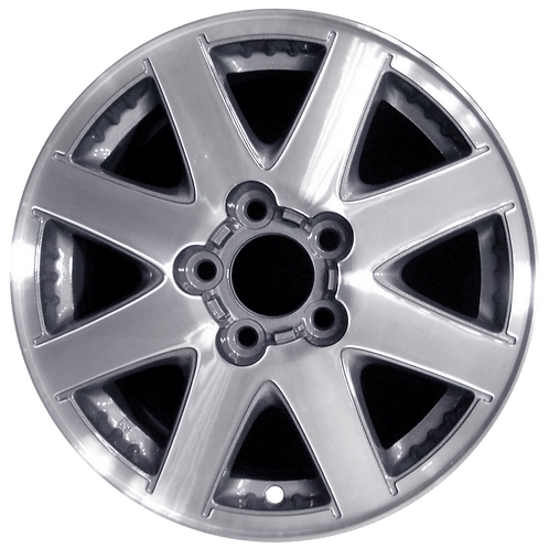 """16"""" 2002-2004 Buick Rendezvous Machined Silver Wheel 4044"""