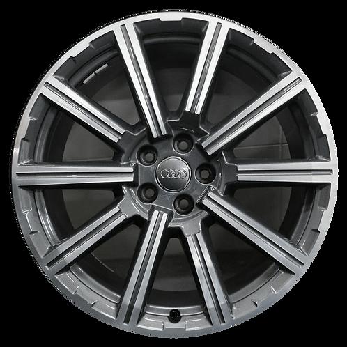 """20"""" 2017-2019 Audi Q7 Machined Charcoal Wheel 58988"""