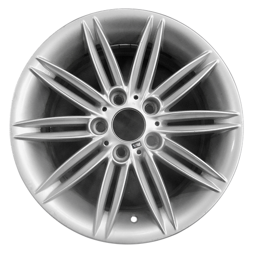 """17"""" 2008-2013 BMW 128i 135i Silver Front Wheel 71252 Style 207"""