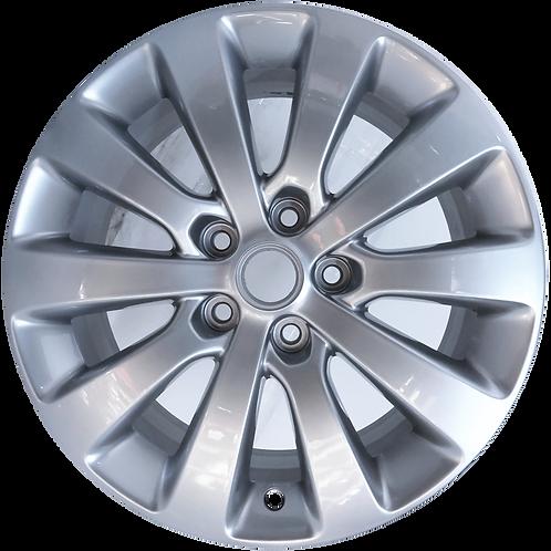 "18"" 2012-2017 Buick Verano Hyper Silver Wheel 4110"