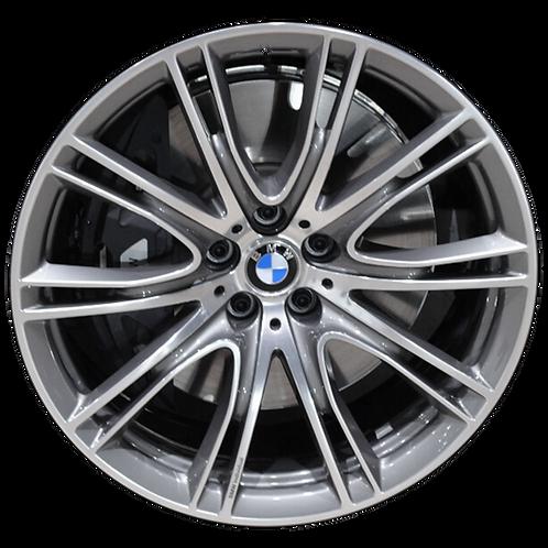 "20"" 2016-2020 BMW 640i GT 740e 740i 745i 750i Grey Front Wheel 86282 Style 649"