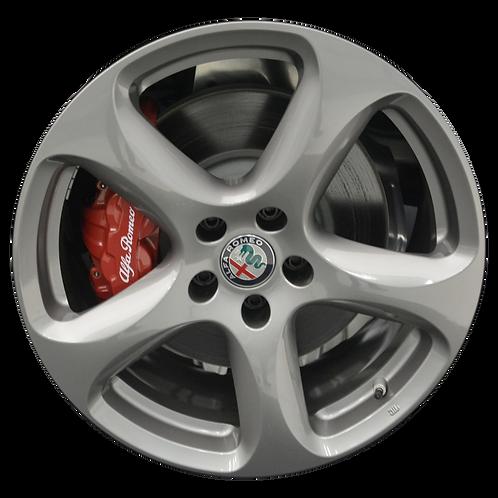 "18"" 2018-2019 Alfa Romeo Stelvio Grey Wheel 58168 & 58187"