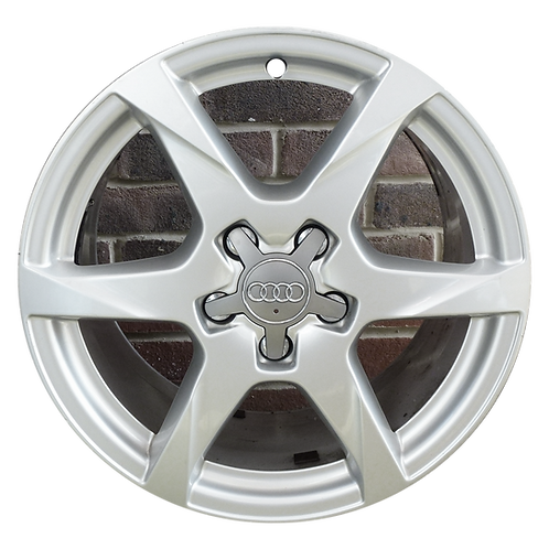 """17"""" 2009-2011 Audi A4 Silver Wheel 58835"""