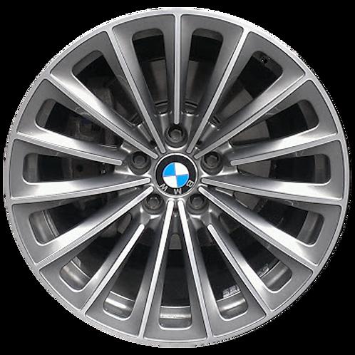 "19"" 2009-2017 BMW 535i GT 550i GT 740i 750i Charcoal Front Wheel 71331 Style 252"