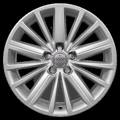 "18"" 2010-2018 Audi A5 S5 Silver Wheel 58861"