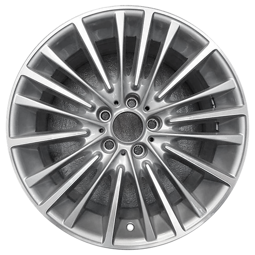 """19"""" 2011-2016 BMW 528i 535i 550i 640i 650i Silver Rear Wheel 86004 Style 455"""