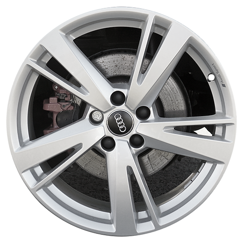 """19"""" 2017-2020 Audi RS3 Silver Front Wheel 59046"""