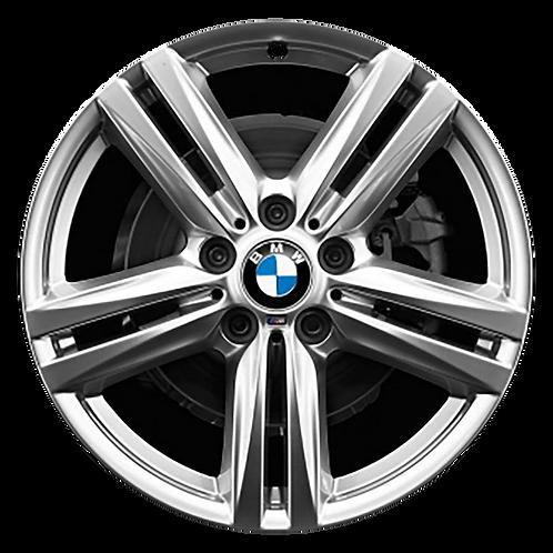 """18"""" 2014-2016 BMW 228i M235i Silver Rear Wheel 86135 Style 624"""