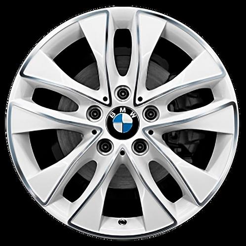 """17"""" 2014-2017 BMW 228i 230i M235i M240i Machined White Wheel 86152 Style 412"""