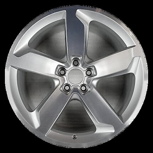 "19"" 2009-2017 Audi Q5 Machined Silver Wheel 58847"